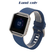 Replacement Sport Silicone Watch Band Wrist Strap for Fitbit Blaze Frame