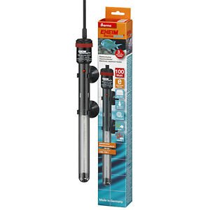Eheim ThermoControl Aquarium Heater 100 Watts Automatic Dry Run Shut-Off