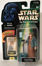 "Star Wars POTF Aunt Beru With Service Droid 3.75"" Figure Kenner 1998 Episode 1"