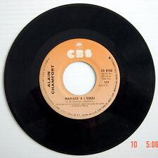 DISQUE 45 TOURS DE 1976 DE ALAIN CHAMFORT, LA DANSE C'EST NATUREL + MARIAGE À L'