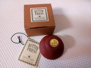 Butter Press Terracotta butter press