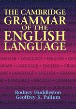 The Cambridge Grammar of the English Language by Geoffrey K. Pullum and...
