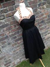 Cotton Blend Retro Lindy Bop Dresses for Women