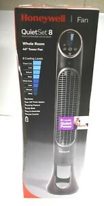 Honeywell HYF290B Quietset 8-Speed Whole-Room Tower Fan With Remote Control