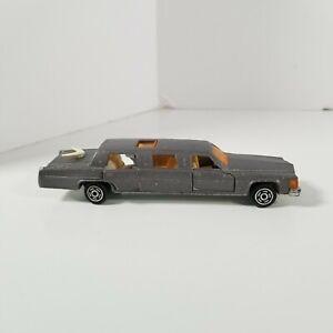 Very Nice Majorette No. 339 1/58 Cadillac Limo Caddy Limousine Gray