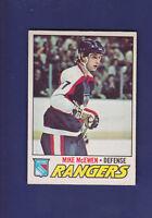 Mike McEwen RC 1977-78 O-PEE-CHEE OPC Hockey #232 (EXMT+) New York Rangers