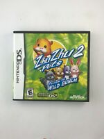 ZhuZhu Pets 2: Featuring the Wild Bunch - Nintendo DS Game - Complete & Tested