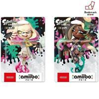 New Nintendo amiibo 2 body set [Hime / Iida] (Splatoon series) F/S from Japan