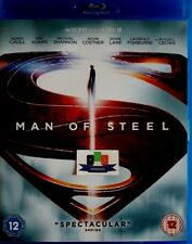 Man Of Steel (Henry Cavill) Blu-Ray 2013 Brand *New And Unsealed*