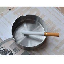 Home Hotel Metal Bar Ashtray Stainless Steel Cigar Jar Storage Holder Case