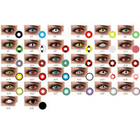1 Paio Cosplay Big Comfort Unisex Lenti A Contatto Colorate Eyes Makeup