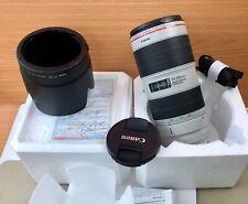 Canon EF 70-200mm f/ 2,8 Mark III NEU UNBENUTZT MIT RECHNUNG UND GARANTIE