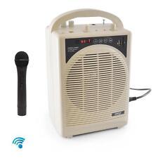 NEW Pyle PWMA120BM Wireless PA Speaker Amp & Mic System  Bluetooth Streaming