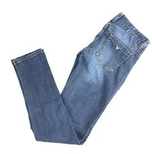 Womens Guess Slim Skinny Stretch Jeans Size 29 X 30 (25)