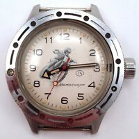 Extremely Rare Soviet Vostok AMPHIBIAN Motorcycling watch, USSR, VGC+ #540