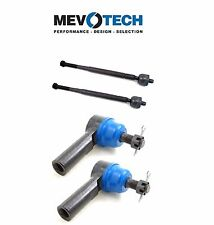 For Chevy Geo Prizm Toyota Set of Pairs Front Inner & Outer Tie Rod End Mevotech