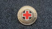 Rotes Kreuz Abzeichen Sachsen Gold