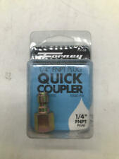 Forney 75135 Pressure Washer Accessories, Quick Coupler Plug, 1/4-Inch