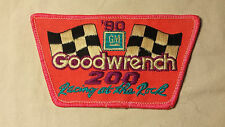 1990 GM Goodwrench 200 Racing Rock NASCAR RACING Embroidered Shoulder Patch 4""