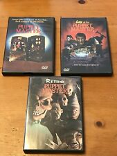 Puppet Master 3 DVD Bundle Curse Of The Puppet Master & Retro Puppet Master