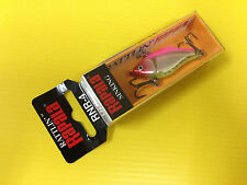 Rapala Rattlin' Rap RNR-4 SHP, Silver Hot Pink Color Lure, NIB.