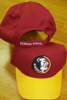 Baseball Hat University of Florida State Red Ball Cap Men One Size New