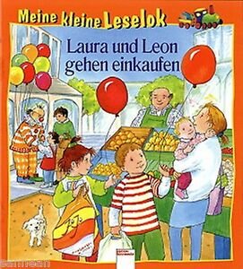 """Meine kleine Leselok """"Laura und Leon gehen einkaufen"""" von Ulrike Kaup"""