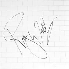 Pink Floyd Signed Album Roger Waters Autographed Record The Wall (Gilmour Mason)