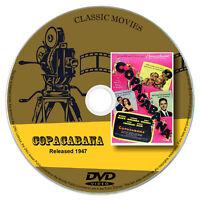 Copacabana 1947 Classic DVD Film - Comedy, Musical