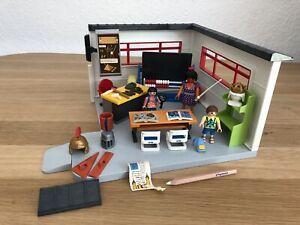 Playmobil 9455 Klassenzimmer Geschichtsunterricht zu 9453 Schule Erweiterung