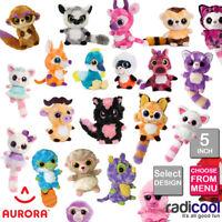 Aurora YOOHOO AND FRIENDS 5 INCH PLUSH Cuddly Soft Toys Childrens Teddy Gifts