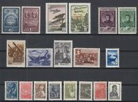BE5797/ RUSSIA – 1937 / 1955 MINT SEMI MODERN LOT – CV 235 $