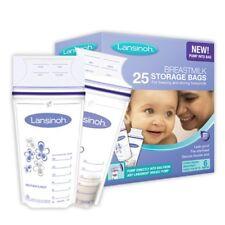 T Milk Storage Bag Pouch Mom Tfeeding Sterilized Freezer 25 Pieces New