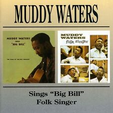 Muddy Waters - Muddy Waters Sings Big Bill / Folk Singer [New CD]