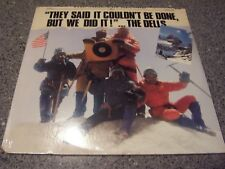 """The Dells """"They Said It Couldn't Be Done But We Did It"""" MERCURY SEALED NM LP"""