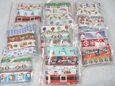 BB CHRISTMAS RIBBON MIXED PACK 20 designs x 50cm lengths grosgrain xmas grab bag