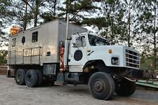 1994 International (Military Model M809A1 6x6 Chassis) Van w/ Cpt Drill Rig