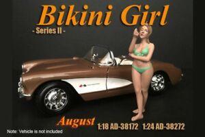 BIKINI GIRL AUGUST AMERICAN DIORAMA 38272 1/24 scale DIECAST CAR