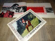 LE CHEVALIER DE MAUPIN Catherine Spaak Robert Hossein dossier presse cinema 1965