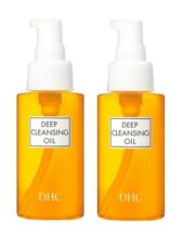 DHC Medicated Deep Cleansing Oil 70mL (SS) Makeup Remover from Japan ×2