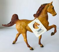 Breyer Firefly #1130 Model Horse Red Roan Green Ribbons with Tag July-Dec 2001