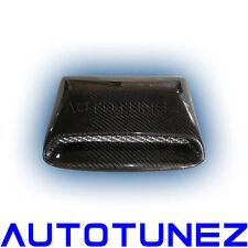 Carbon Fiber Car Roof Scoop For Subaru Impreza WRX STI 2008 2009 Black TU