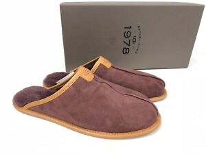 UGG Australia THAYNE 1978 COLLECTION Suede SHEEPSKIN SLIPPERS 1016776 Shoes