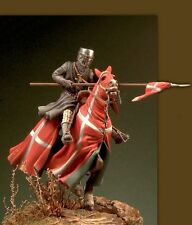 PEGASO MODELS 54-509 - ST. JOHN ORDER KNIGHT XIII C - 54mm WHITE METAL NUOVO