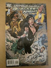 UNTOLD TALES of BLACKEST NIGHT : ONE-SHOT by GEOFF JOHNS,REIS,TOMASI etc.DC.2010