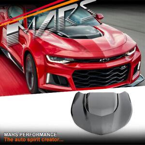 ZL1 1LE Style Aluminium Bonnet Hood & Carbon Scoope for Chevrolet HSV Camaro 16+