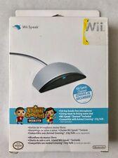 *NEW/SEALED* Official OEM Nintendo Wii Speak Animal Crossing Microphone Chat