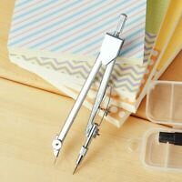 Durable Metal Drafting Tools Drawing Math Compass Set School Supplies Stationery