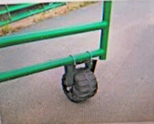 BEST Fence Gate Wheel On the market! ALL TERRAIN!  USA quality! 400 pd capacity