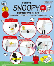 Kitan Putitto Snoopy Ver.1 Snoopy & Woodstock 8pcs Set